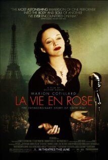 Marion Cotiliard as Edith Piaf in her Oscar winning performance La Vie En Rose.