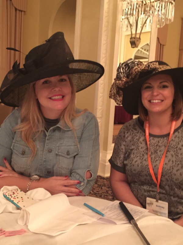 We like big hats and we cannot lie. lol.  This is my Zumba instructor and now friend Brittney.