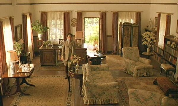 Interior shot from the movie.