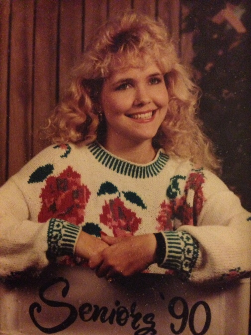 My senior picture.  Hard to believe I was a brat.