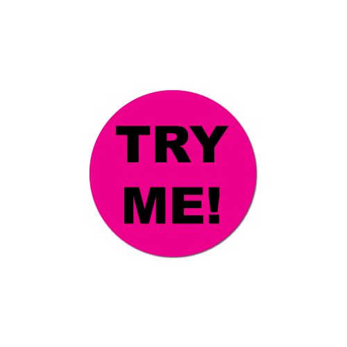 72477_try-me-fluorescent-pink-circle-stickers-and-labels